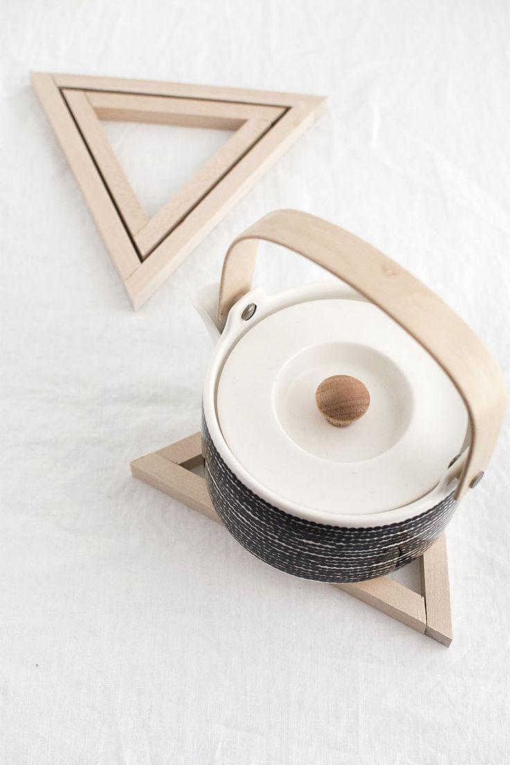 DIY - How to make a wood triangle trivet. | www.homeology.co.za