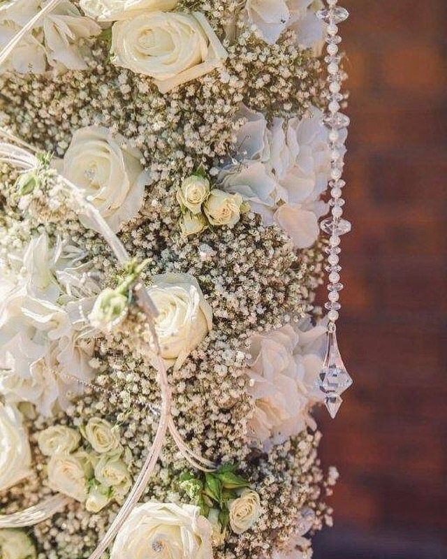Continuing On With The Baby S Breath Vibes I Really Loved Working On This Flower Wall For One Of My Gorgeous Brides In 2020 Beautiful Flowers Flower Wall Flowers