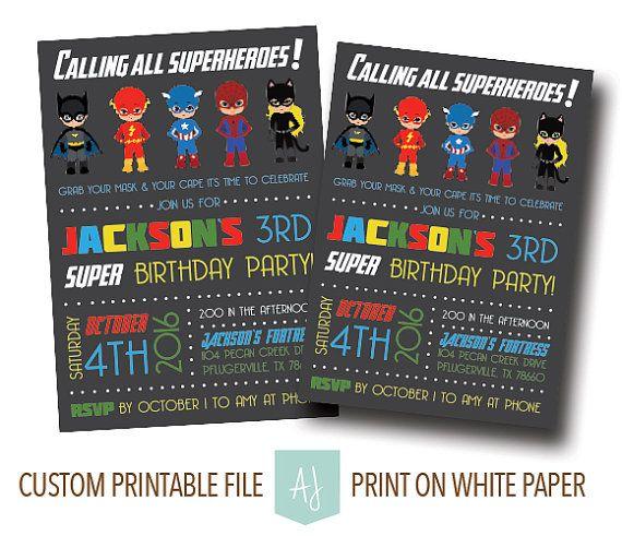 227 Best Images About Superhero Birthday Party Ideas On