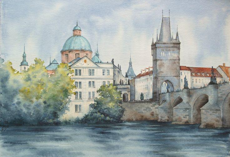 Prague... / Natali Shchepetnova