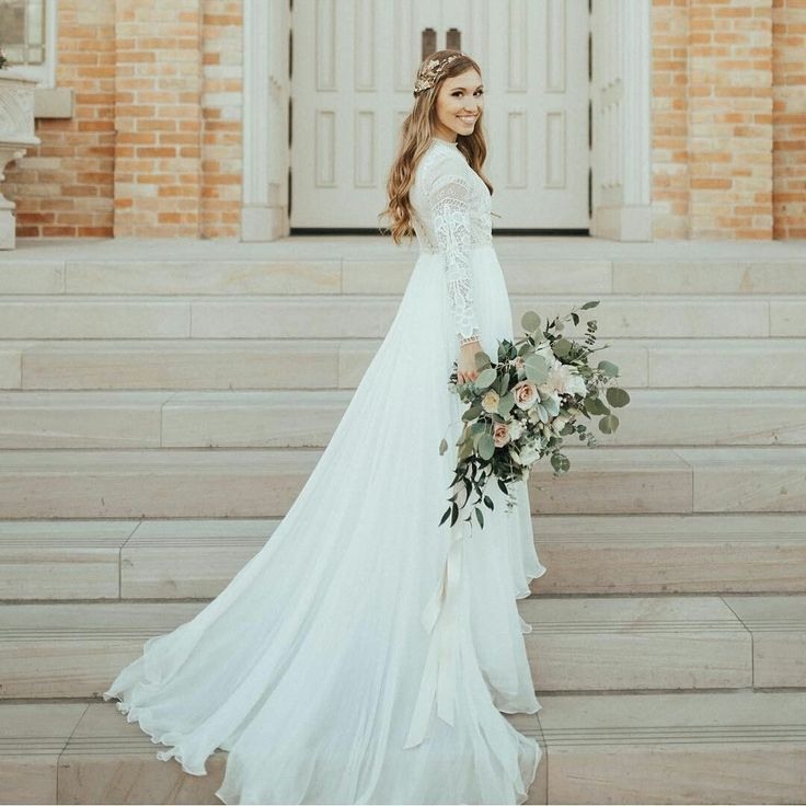 Modest Wedding Dresses With Sleeves: 25+ Best Ideas About Modest Wedding Dresses On Pinterest