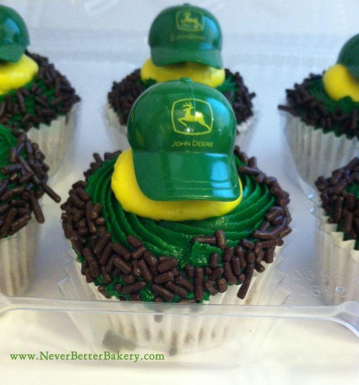 Never Better Bakery's John Deere cupcakes.