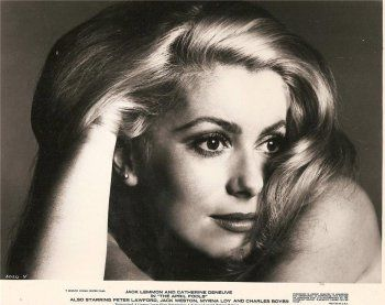 Portrait of Catherine Deneuve for The April Fools directed by Stuart Rosenberg, 1969