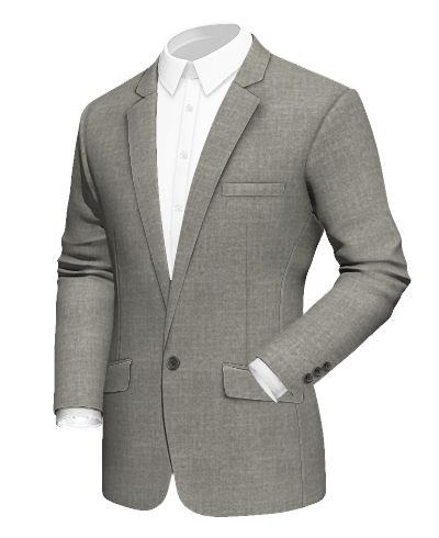 Grey wool Blazer http://www.tailor4less.com/en-us/men/blazers/3071-grey-wool-blazer
