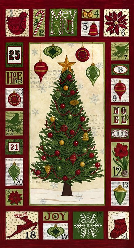 1000+ images about CHRISTMAS COUNTDOWN CALENDAR QUILTS on ...