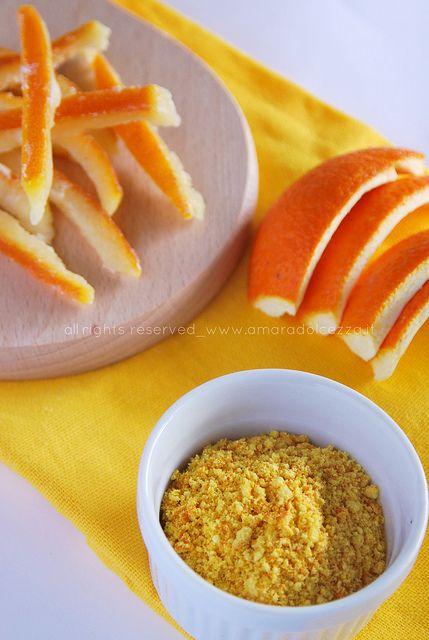 polvere di arancia by Amaradolcezza, via Flickr