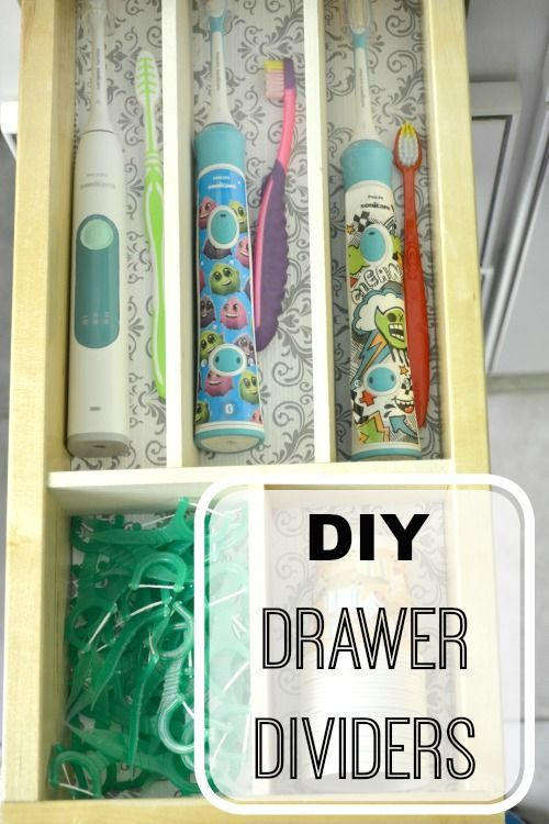 Photo Of DIY Drawer Organizer Pretty Handy Girl Storage and Organization