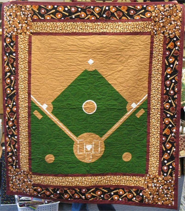 Baseball Quilt Quilts Quilts Quilts Pinterest