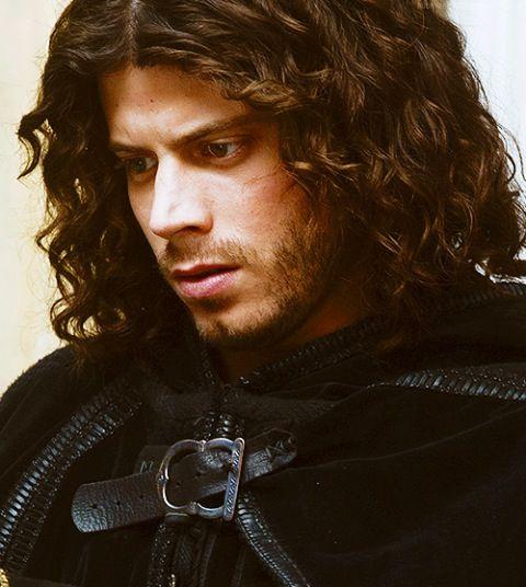 The Borgias: Cesare Borgia (François Arnaud) You should see him ride a horse.