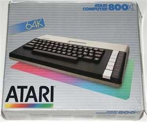 Atari 800 XL Box