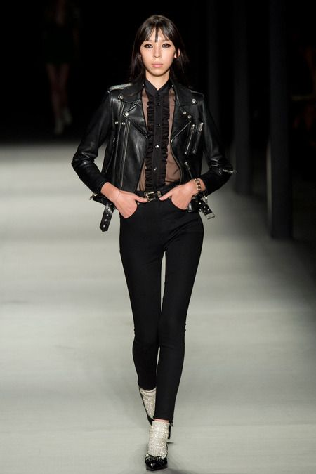 Mods AND Rockers Saint Laurent | Spring 2014 Ready-to-Wear Collection | Style.com