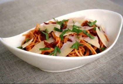 Szárított paradicsomos spagetti   NOSALTY – receptek képekkel