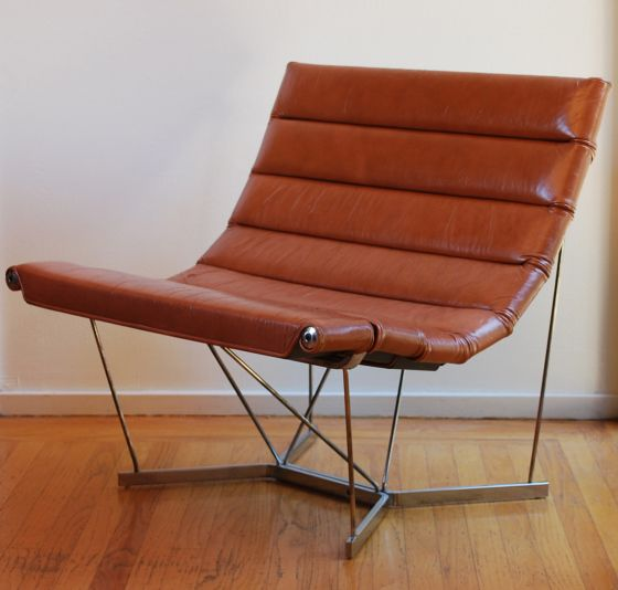 The Catenary Chair, Model 6380, by George Nelson & Associates for Herman Miller. 1962.