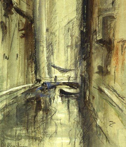Angelini Pietro, Rio solitario, Galleria d'Arte Moderna Ricci Oddi, Piacenza
