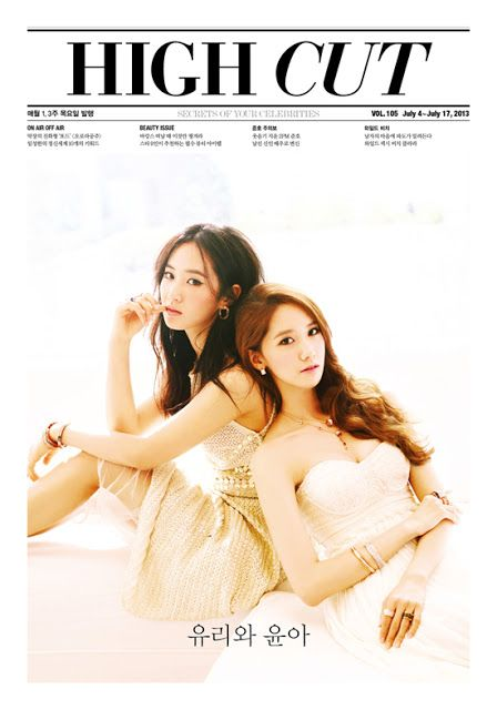 Girls' Generation's Yuri and YoonA show stunning beauty in 'High Cut'