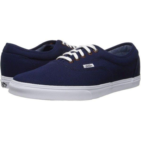 Vans LPE (€47) ❤ liked on Polyvore featuring shoes, sneakers, vans, sneakers & athletic shoes, leather footwear, vans shoes, vans sneakers, leather trainers and vans footwear