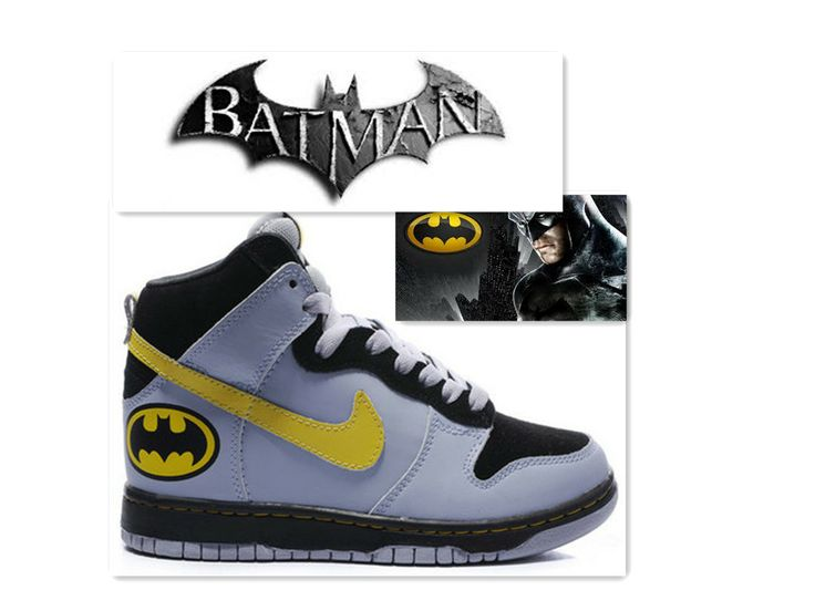 Nike Batman Shoes - high tops kicks : Nike Shoes For Sale, Nike .