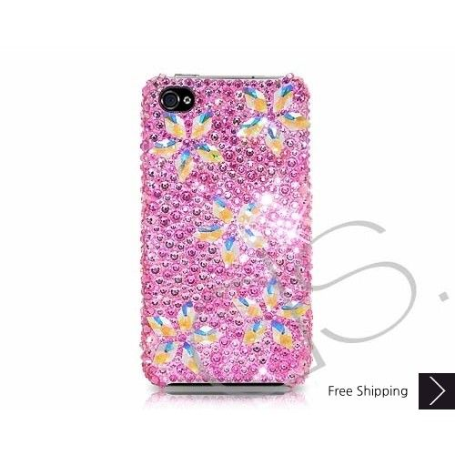 Sparkling Flower Bling Swarovski Crystal iPhone 5 Case