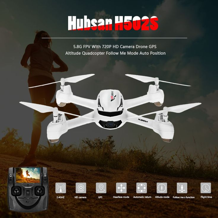 Original Hubsan X4 H502S Rc Helicopter 5.8G FPV With 720P HD Camera Drone GPS Altitude Quadcopter Follow Me Mode Auto Position //Price: $0.00//     #storecharger
