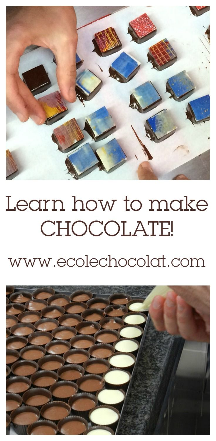We can teach you how to make chocolate! Click to learn more about our Professional Chocolatier Program starting on January 6, 2017!