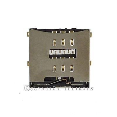 iPhone 4 Sim Card Connector Contact Reader Replacement Part USA Seller   eBay