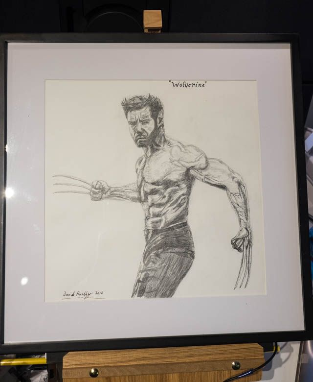 """Hugh Jackman """"Wolverine"""" in X-men. A Christmas Present for my 13 year old son Sondre."""