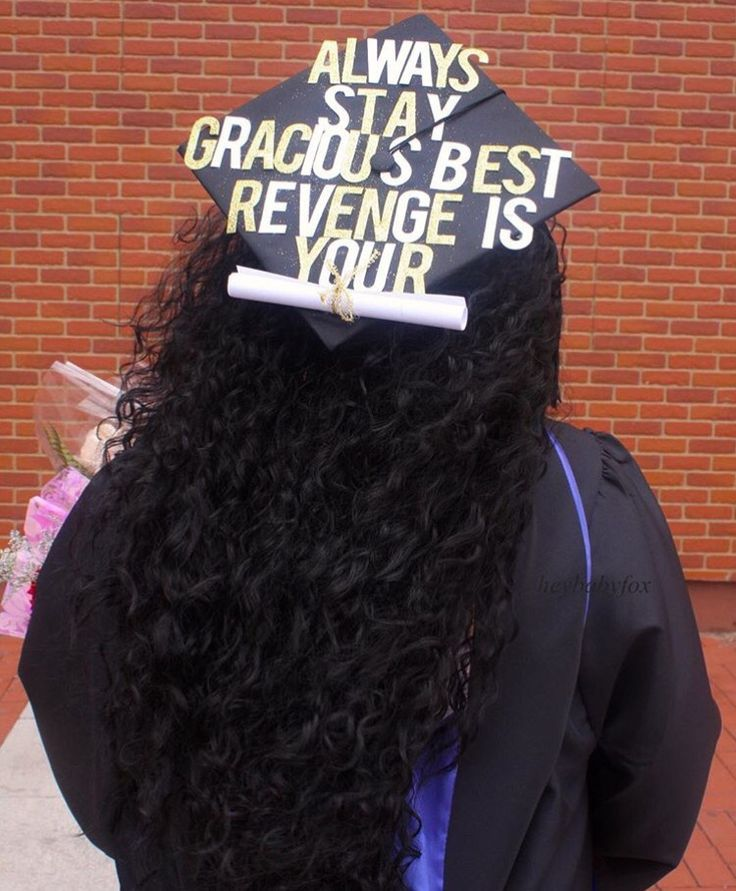 best grad caps images graduation ideas grad cap  grad cap best revenge is ur paper