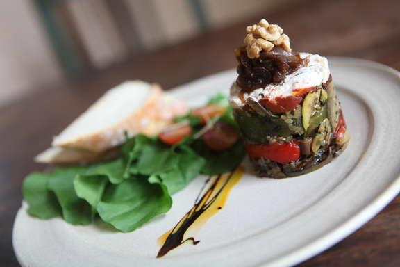 Grilled Vegetables & Feta Plate