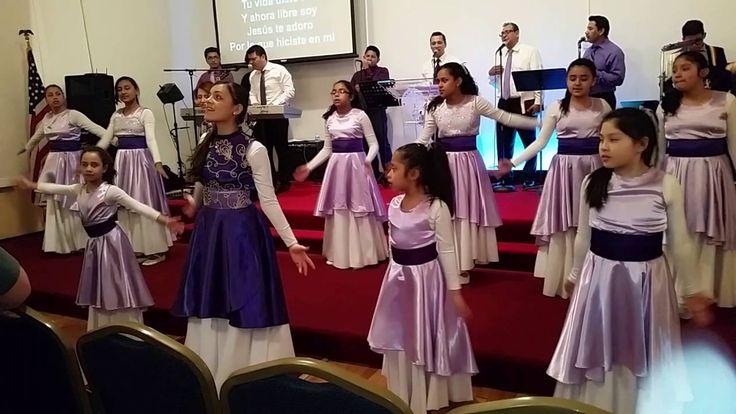 Gracia Sublime es (This is Amazing Grace) - Danza Templo Emanuel - YouTube   Danza Templo Emanuel  Iglesia del Nazareno  Vestidos de Danza