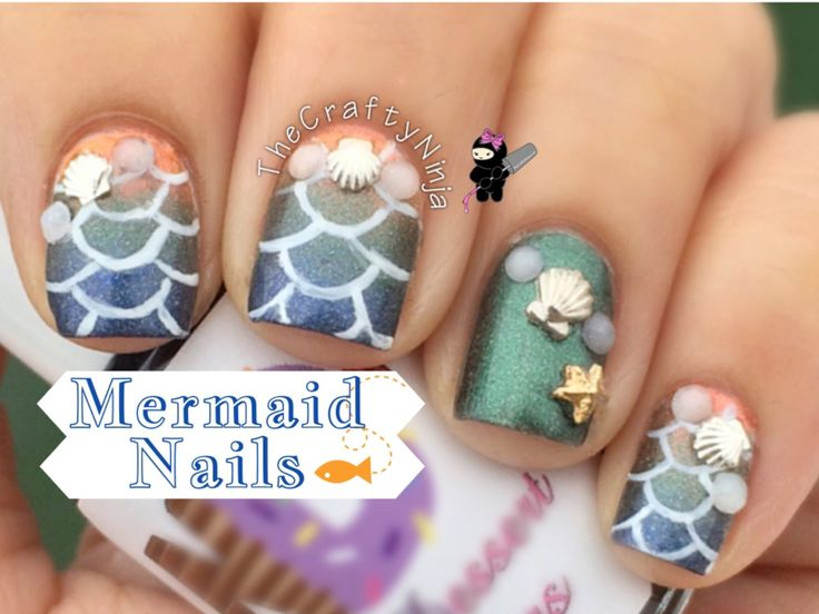39 best Mermaid Nails images on Pinterest | Pretty nails, Cute nails ...