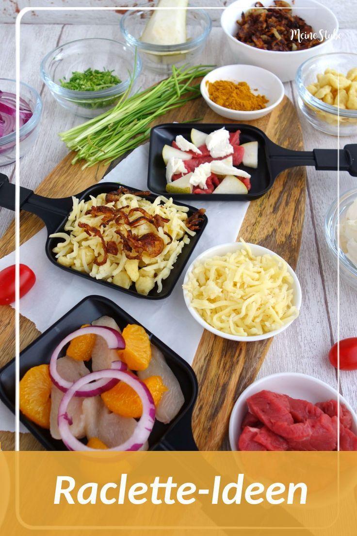 Raclette-ideen, leckere rezepte für deine pfännchen