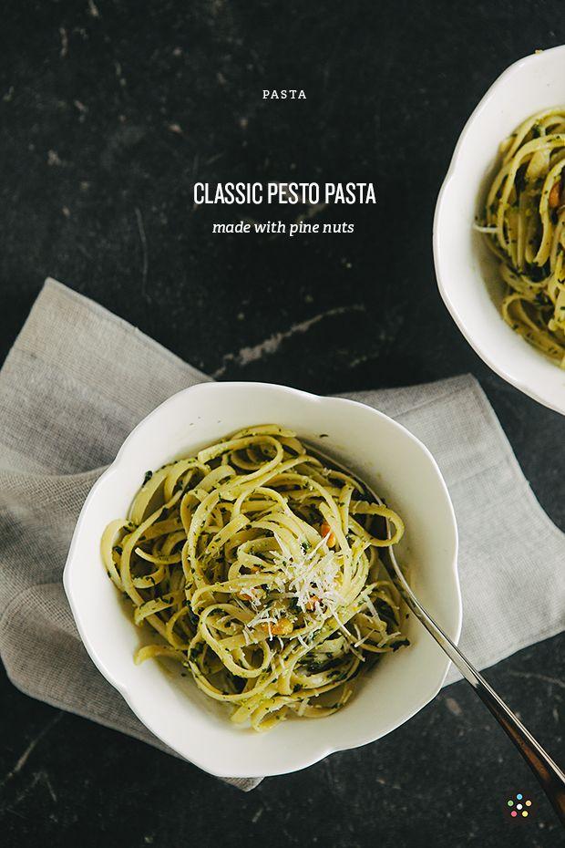 classic pesto pasta