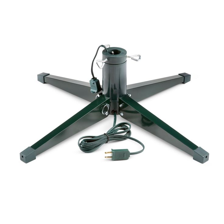 Heavy-Duty Rotating Christmas Tree Stand