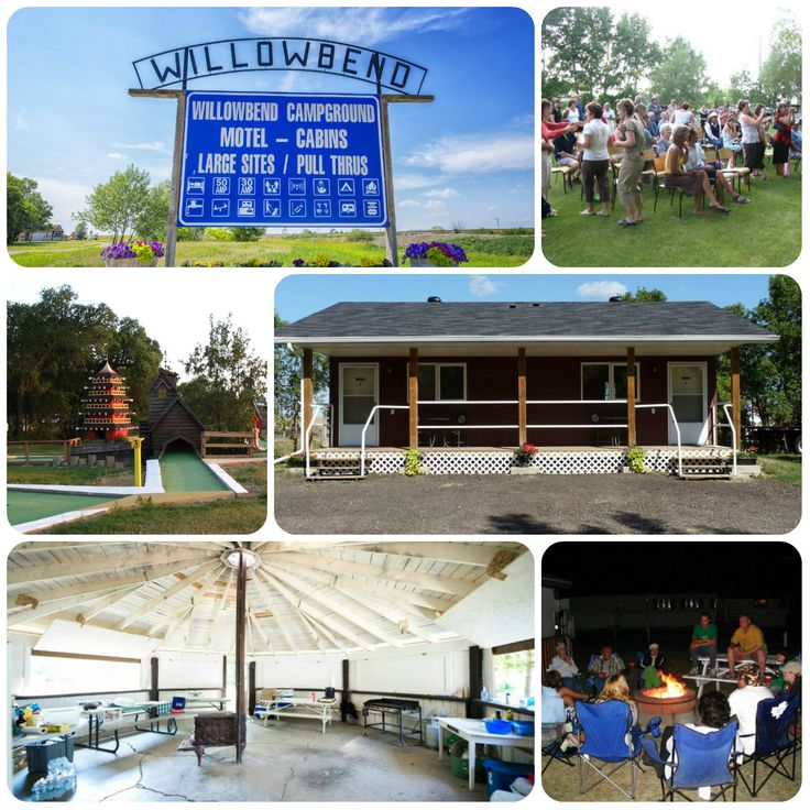 Willowbend Campground and Cabins is your Family Reunion destination in Maple Creek