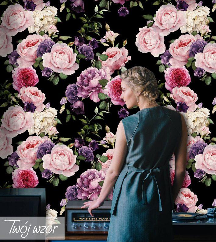 Fototapeta Burza Kwiatów