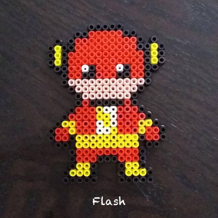 Flash perle à repasser activité à faire pour les enfants