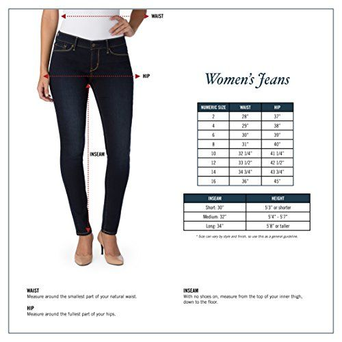 Signature by Levi Strauss & Co. Gold Label Modern Skinny Women's Jeans offer quality craftsmanship and authentic style backed by over 160 years of denim heritage and expertise. Crafted from premium, super stretchy Simply Stretch denim that won't bag out and keeps its shape all day, our Mod... http://darrenblogs.com/us/2017/11/21/signature-by-levi-strauss-co-gold-label-womens-modern-skinny-jeans/