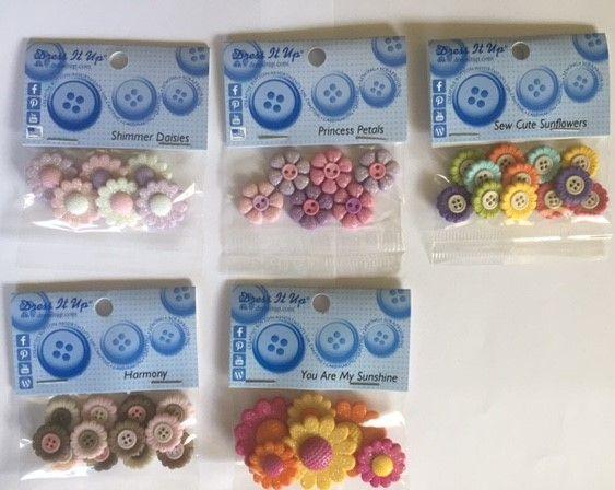 Flower Button Bundle $30 (inc postage) You save $6
