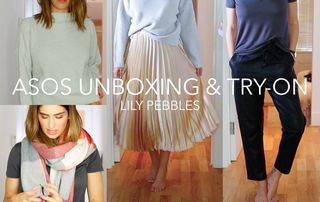 ASOS UNBOXING & TRY ON