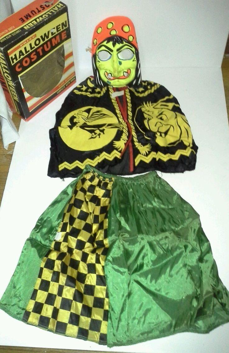 Vintage Halloween Costume Ben Cooper Costume 313 Witch | eBay..