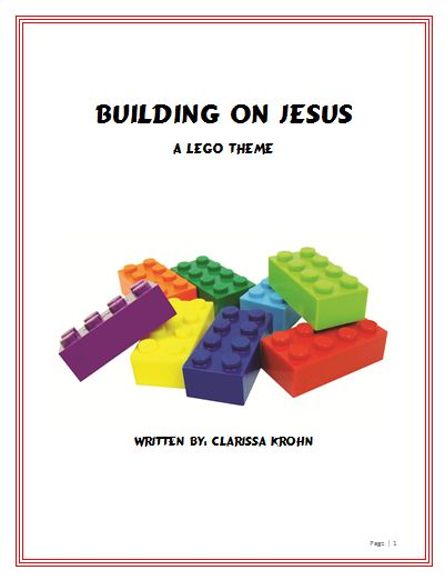 Check out this 8 lesson Lego theme on the the building blocks of the Christian life! Completely planned out lessons for vbs, sunday school, good news club, ect...