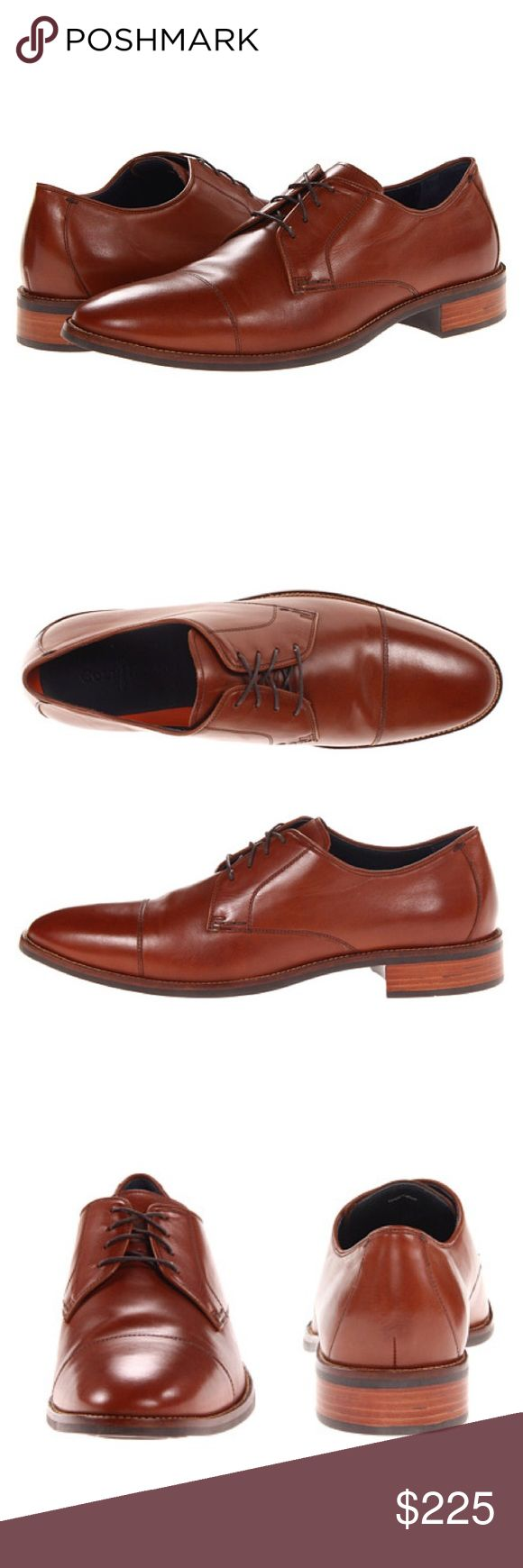 NWOT Cole Haan British Tan Lennox Hill Cap Ox ♡ A classic that will never go out of style is what you get with the Lenox Hill oxford. This cap toe leather oxford is ready for the boardroom or a night out on the town and will keep you comfortable with Grand OS® technology which features a dual compound cushioning system!  ♡ Leather upper Lace-up closure Round cap toe Leather lining Leather lined, lightly cushioned footbed Cole Haan Grand OS® technology for increased cushioning Rubber sole…