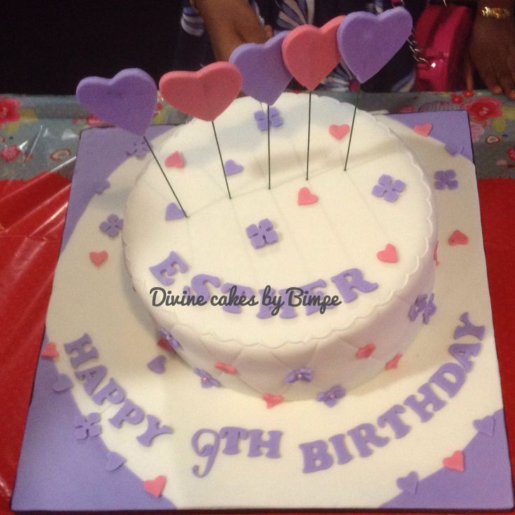 7 best 9 Year Old Birthday Cake for Girls images on Pinterest