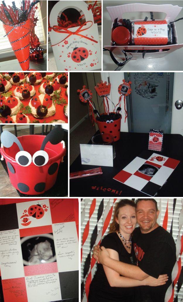 celebrate a little lovebug with modern ladybug baby shower decorations