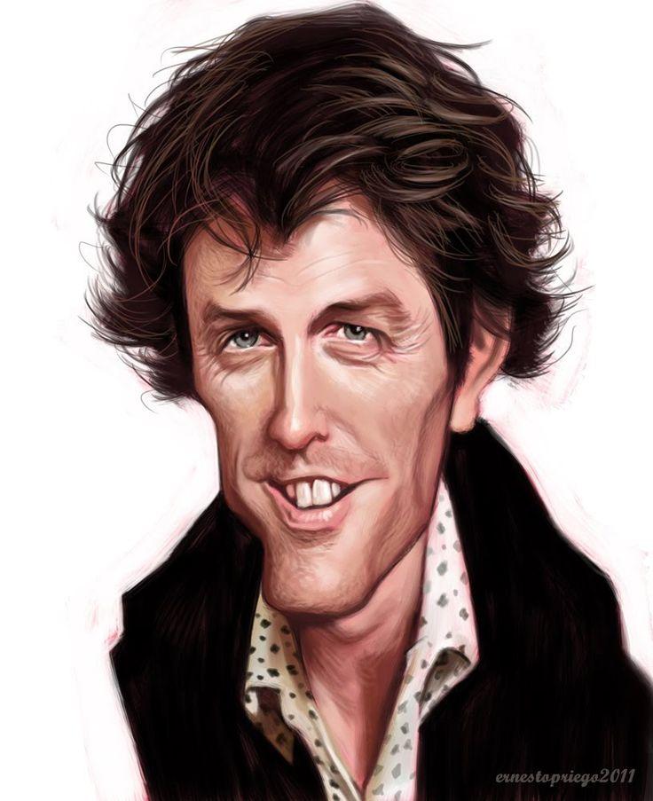 Caricatura de Hugh Grant  ~ Ʀεƥɪииεð вƴ╭•⊰✿ © Ʀσxʌиʌ Ƭʌиʌ ✿⊱•╮