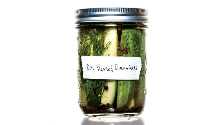 Classic Dill Pickles Recipe | Bon Appetit. In this dill pickle recipe, always trim off stems and ends before pickling veg; enzymes in both can lead to mushy pickles.