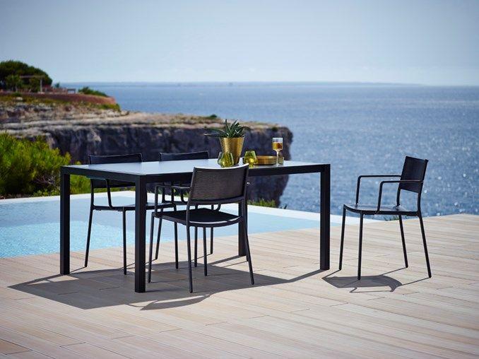 Less Chair W/armrest Cane Line. Garden ChairsGarden Furniture