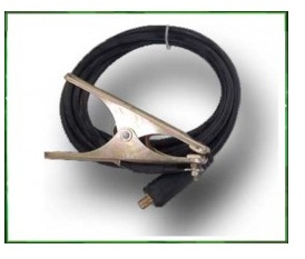 Ground Clamp, 300 Amps AC, 1/2 In Stud Cable Connection, 90 Percent Copper, For Use With Arc Welder.    Ground Clamp A  CA$40.00