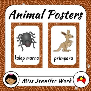 Bring a bit of Australia into your classroom this year with these posters of…