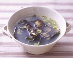 しじみとわかめのスープ